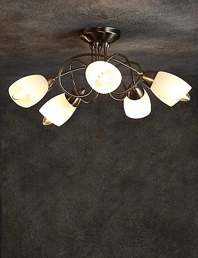 Andrea 5 Light Flush Lamp M Amp S