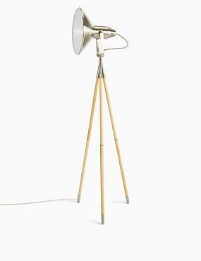 Jenson Floor Lamp, NATURAL, catlanding