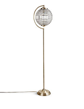 Gem Ball Floor Lamp, , catlanding