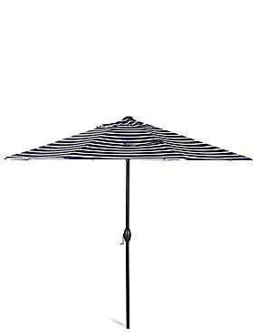 Classic Stripe Parasol, , catlanding