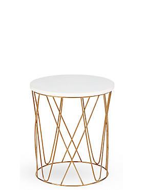 Lena Copper Side Table