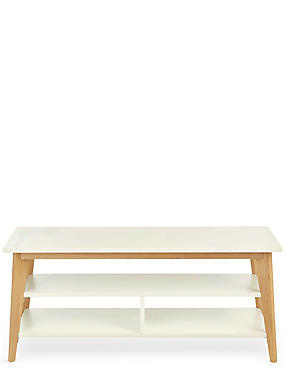 Bradshaw Media Unit White