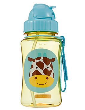 Straw Bottle - Giraffe