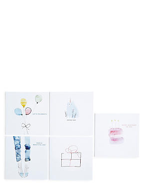 Illustration Pack Birthday Card Bundle