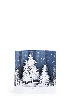 Winter Scene Multilayered Pop Up Christmas Charity Cards Pack of 6