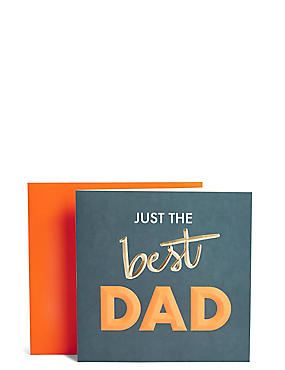 Greeting cards occasion cards ms best dad large fathers day card m4hsunfo Gallery