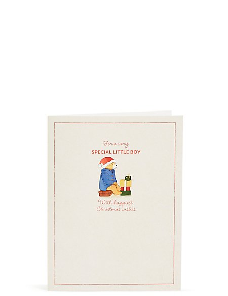Special Little Boy Paddington™ Christmas Card