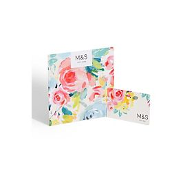 Floral Brush Stroke Gift Card