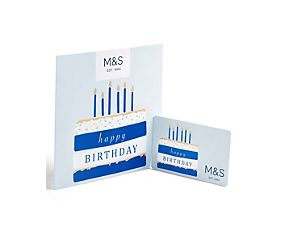 Birthday Cake Gift Card