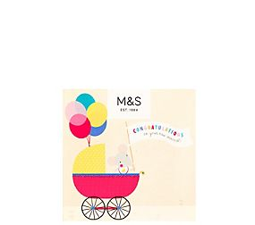 New Baby Congratulations Gift Card