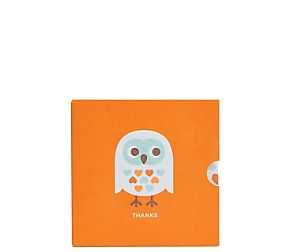 Thank You Owl Gift Card