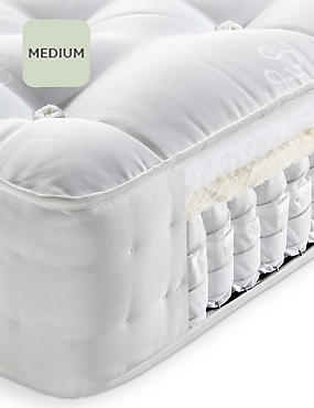 Natural 750 Mattress, WHITE, catlanding