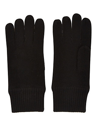 Pure Cashmere Knitted Gloves Clothing