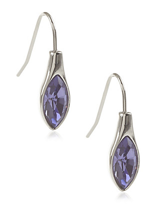 Navette Drop Earrings MADE WITH SWAROVSKI® ELEMENTS Clothing