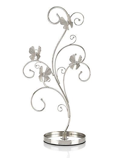 flutter butterfly tree jewellery holder