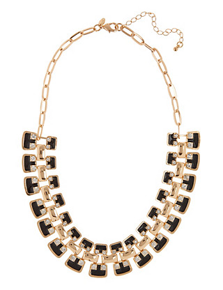 Enamel & Diamanté Necklace Clothing