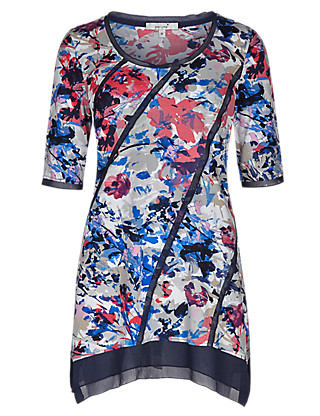 Floral Printed Tunic Clothing