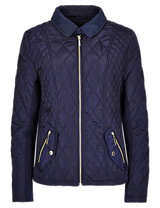 Quilted Padded Jacket with Stormwear™ Clothing