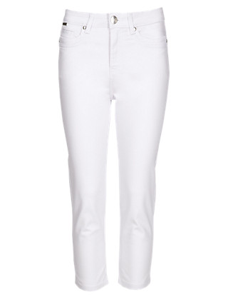 Roma Slim Leg Cropped Jeans Clothing