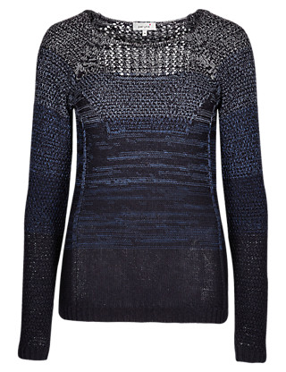 Ombre Effect Jumper Clothing