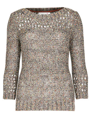 Flecked Jumper Clothing