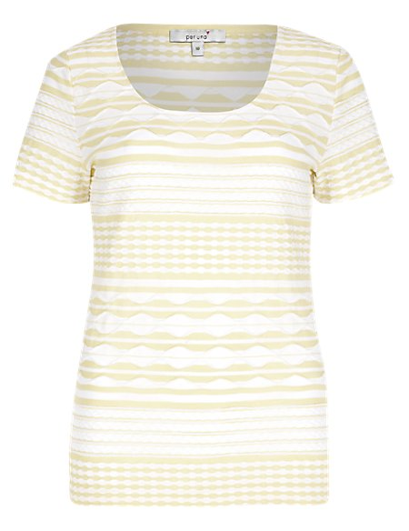 Two Tone Ripple T-Shirt