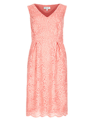 Floral Lace Prom Dress Clothing