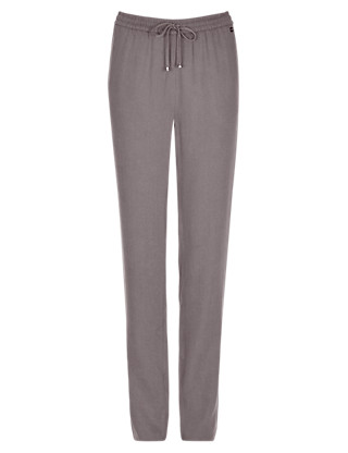 Roma Rise Ankle Tapered Trousers Clothing