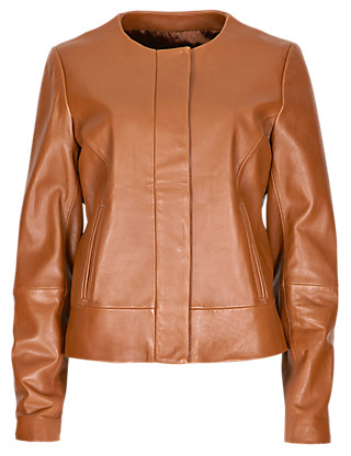 Speziale Premium Leather Bomber Jacket Clothing