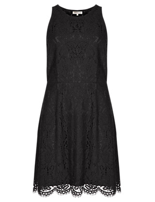 Fit & Flare Lace Dress Clothing