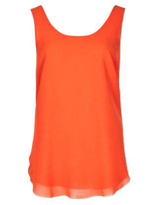 Double Layer Vest Top Clothing