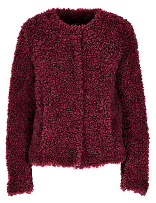 Faux Fur Fluffy Jacket Clothing