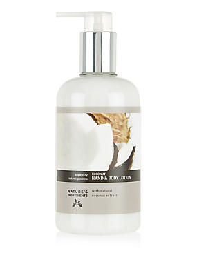 Coconut Hand & Body Lotion 300ml
