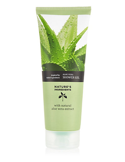 Aloe shower gel