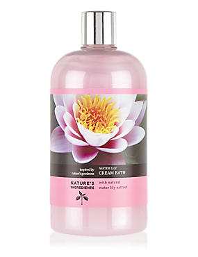 Water Lily Cream Bath 500ml