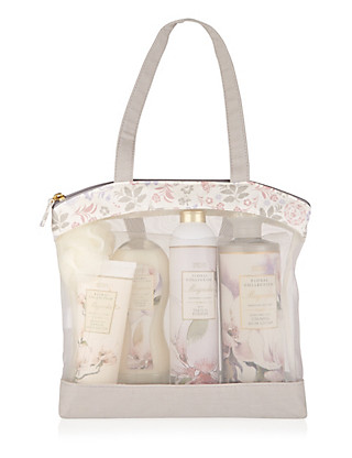 Magnolia Toiletry Gift Bag Home