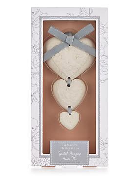 Scented Hanging Heart Trio