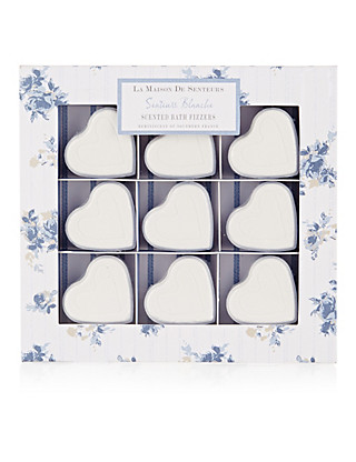 Blanche Scented Bath Fizzers Home