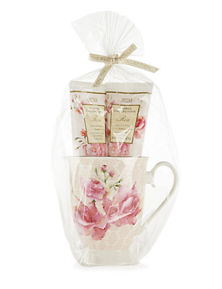 Rose Mug Gift Set Home