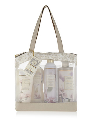 Magnolia Toiletry Bag Gift Set Home