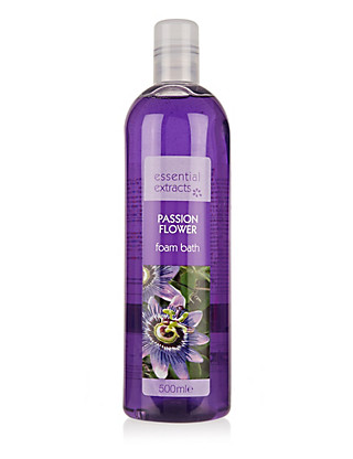 Passion Flower Foam Bath 500ml Home