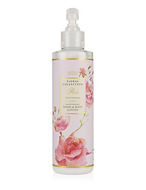 Rose Moisturising Hand & Body Lotion 250ml