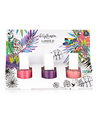 3 Limited Collection Holly Sharpe Nail Polish Gift Set Home