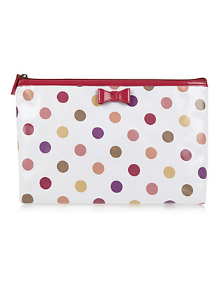 Nautical Spotted Washbag Home