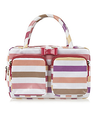 Striped Weekender Bag Home