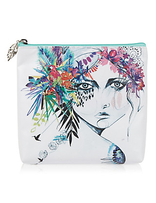 Holly Sharpe Cosmetic Purse Home