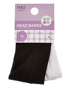 2 Pack Headbands