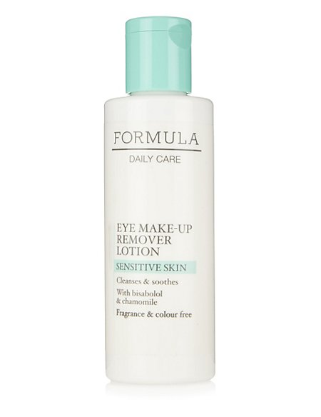 Daily Care Sensitive Skin Eye Make Up Remover Lotion 100ml