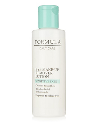 Daily Care Sensitive Skin Eye Make Up Remover Lotion 100ml Home