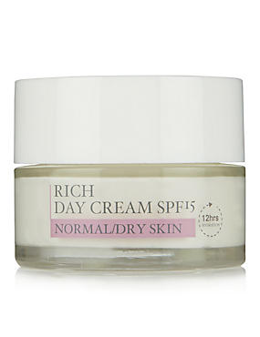 Daily Care Day Cream SPF15 for Normal/Dry Skin 50ml